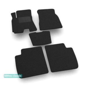 Двухслойные коврики Chery Tiggo 3 2014→ - Classic 7mm Black Sotra