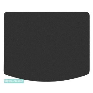 Коврик в багажник Lincoln MKC (mkI) 2014→ - текстиль Classic 7mm Black Sotra