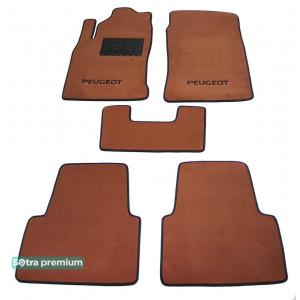 Двухслойные коврики для Peugeot 605 1990-1999 10mm Terracot Sotra Premium