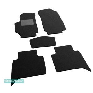 Двухслойные коврики для Fiat Croma (mkII) 2007-2011 Sotra Classic 7mm Black