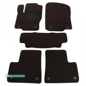 Двухслойные коврики для Mercedes-Benz GL-Class (1-2 ряд)(X166) 2013→ 10mm Chocolate Sotra Premium