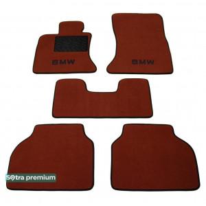 Двухслойные коврики для BMW 5-series GT (F07) 2009→ 10mm Terracot Sotra Premium