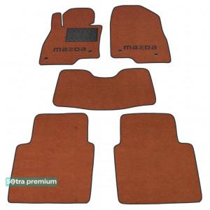 Двухслойные коврики для Mazda 6 (седан)(GJ1)(mkIII) 2013→ 10mm Terracot Sotra Premium