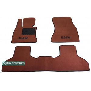 Двухслойные коврики для BMW X5 (F15) 2014→ 10mm Terracot Sotra Premium
