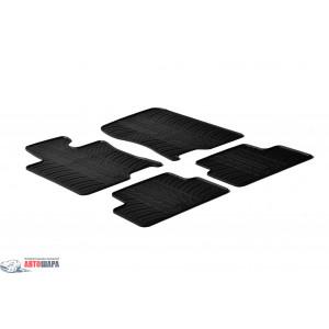 Ковры резиновые HONDA Accord 2008- (T) 4 шт - черные GledRing