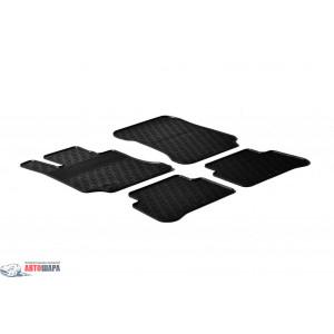 Резиновые коврики Gledring для Mercedes-Benz E-Class (W212) 2009-2013