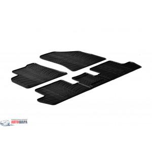Резиновые коврики Gledring для Peugeot 3008 (mkI) / 5008 (mkI) 2009-2016