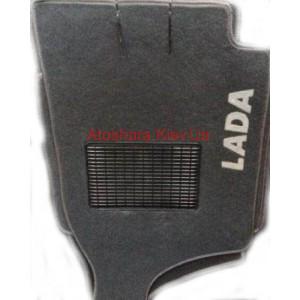 Коврики текстильные LADA 2101-2107 серые в салон