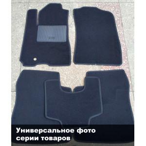 Коврики текстильные SEAT ALTEA FREETRACK с 2007 черные в салон