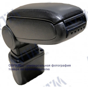 подлокотник Volkswagen Caddy (2004-) черный, сдвижной - AVTM