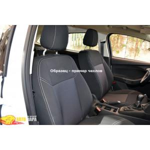 Чехлы для Peugeot 208 2011- (шт.)- Автоткань - Союз Авто