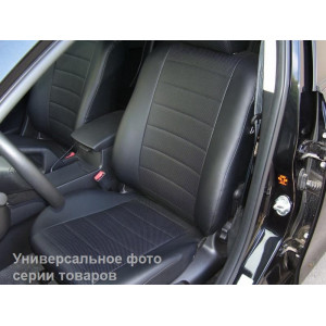 Авточехлы Ford Tourneo Connect 2002-2013 из экокожи бюджет Pilot-Luxe Союз Авто