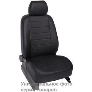 чехлы салона Mazda 3 Hb 2013- Эко-кожа /черные - Seintex
