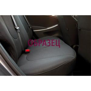 Чехлы сиденья Ford Transit (2+1) c 2000-2006 г тканевые - Элегант Модель Classic