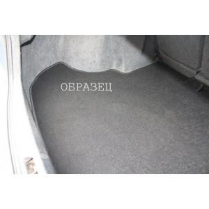 Коврик в багажник для Mercedes S W221 c2005 купе - серый текстильный