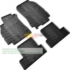 Резиновые коврики Gledring для Fiat Doblo (mkII) 2010>