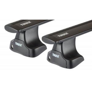 Багажник Thule Wingbar для Hyundai Solaris 2011- (TH-754;TH-969b;TH-1657)