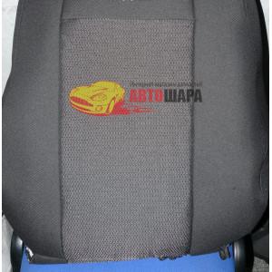 Чехлы на сиденья FIAT Doblo 1+1 только передние с 2010г. - Ав-Текс