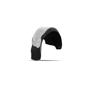 Подкрылок с шумоизоляцией подходит для MAZDA 3 2018 - >  хетчбек (передний правый) - Novline
