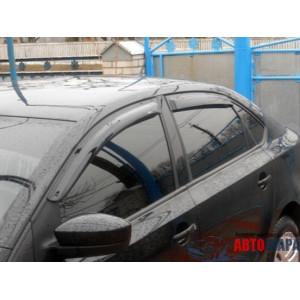 Дефлектор капота VW Touran с 2010 г.в. - VipTuning