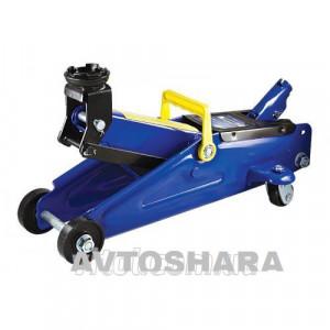 Домкрат гидравлавлический подкатной 2 т макс. подъем 332 мм, чемодан, 7,5 кг (ДП-20075К)