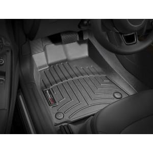 Коврики в салон Audi A4/S4/RS4 10-2015 Черные передние 442121 WeatherTech доставка  бесплатна  видео  442121 - АвтоШара.поиск