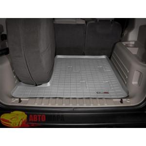 Коврик багажника Hummer H2, Серый Для авто с запаской в багажнике - резиновые WeatherTech