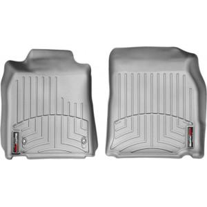Ковры салона Lexus ES 2006-12 с бортиком, передние, серые - Weathertech