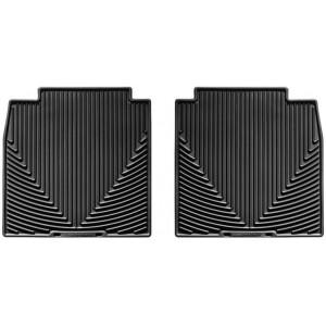 Ковры салона Lexus LS 460 2006-, задние, черные LONG - Weathertech